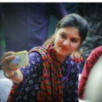 Gayathri Suresh, selfie, 2018