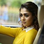 Imaikkaa Nodigal, nayanthara, yellow dress, recent, car