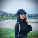 Janani Iyer, Bigg Boss 2 Tamil, natural, black dress, tour