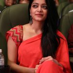 Janani Iyer, Bigg Boss 2 Tamil, saree, event, red saree
