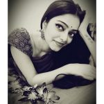 Janani Iyer, Bigg Boss 2 Tamil, top,  special image, black & white
