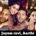 Jayam Ravi, Aarthi,  (1)