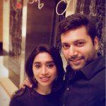 Jayam Ravi, Aarthi, 2018, wedded pair