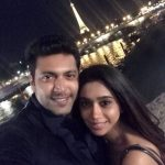 Jayam Ravi, Aarthi, Best couple, Night, Hug