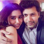 Jayam Ravi, Aarthi, Romantic pair