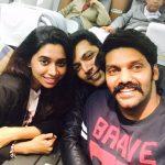 Jayam Ravi, Aarthi, Selfie, Arya, friends