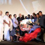 Junga, Audio Launch, stage, vijay sethupathi