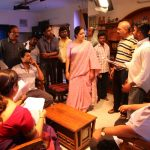 Kaatrin Mozhi, jyothika, shooting spot, angery, director
