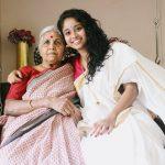 Krisha Kurup, Golisoda 2 actress,  Kerala Saree, paati, Grand mother