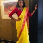 Krisha Kurup, Golisoda 2 actress,  Yellow Saree