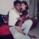 Krisha Kurup, Golisoda 2 actress,  childhood pic, dad, appa, old photo, unseen images