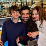 Madhavan, family, son, wife