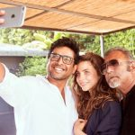 Madhavan, selfie, friend, white dress