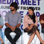 Mr. Chandramouli, press meet, gautham karthik, varalaxmi, regina