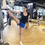 Nidhhi Agerwal, gym, fitness