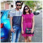 Pooja Devariya, pink dress, friend, sweetheart