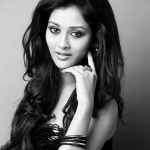 Pooja Jhaveri, black and white, charming