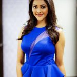 Pooja Jhaveri, blue dress, gorgeous