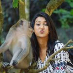 Pooja Jhaveri, monkey, handsome