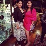 Pooja Kumar, Vishwaroopam 2 Heroine, Pink dress, Friend