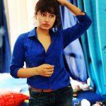 Poonam Bajwa, Blue Dress, current Pic