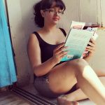 Poonam Bajwa, Reading Book, sightly