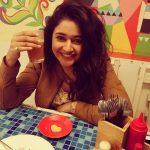 Poonam Bajwa, Smile, drink, Party