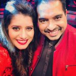 Priyanka Deshpande, red dress, selfie, smile