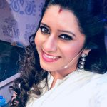 Priyanka Deshpande, smile, white dress, selfie, ancor