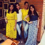 Ramya NSK, bigg boss 2, kiki vijay, friends