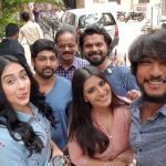 Regina Cassandra, excellent,  selfie, Mr. Chandramouli, team