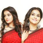 Remya Nambeesan, exclusive, saree