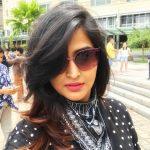 Remya Nambeesan, fantastic, black dress