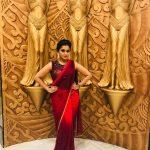 Remya Nambeesan, saree, full size