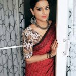 Remya Nambeesan, traditional, saree