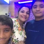 Rethika Srinivas, childresns, son, daughter