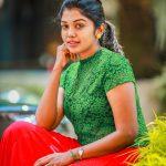 Riythvika, Bigg Boss 2, fantastic, green & red dress