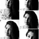 Riythvika, Bigg Boss 2, hair style, collage