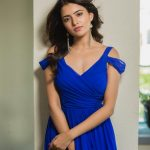 Rukshar Dhillon, photoshoot, blue dress
