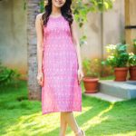 Rukshar Dhillon, pink dress, natural, full size