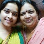 Sri Divya, mom, selfie