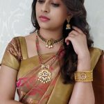 Sri Divya, saree, traditional dress