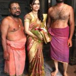 Sri Divya, temple, saree
