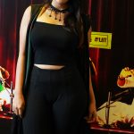 Thamizh Padam 2, Audio Launch, Iswarya Menon,  Black Dress