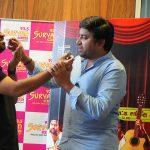 Thamizh Padam 2, Audio Launch, Shiva, Iswarya Menon, cake