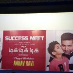 TikTikTik, Success Meet, jayam ravi, aarav ravi, poster
