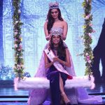 Trichy girl anukreethy vas Miss TamilNadu India 2018 proud crowning moment by manushi chillar miss india 2017 (39)