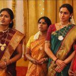 Vada Chennai, Dhanush, Andrea Jeremiah, saree, function