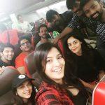 Varalaxmi Sarathkumar, selfie, tamil celebrities