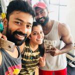 Varalaxmi Sarathkumar, shanthanu, gym, workout